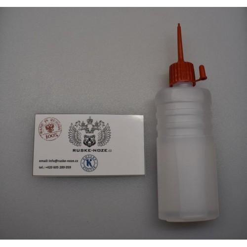 Olej na konzervaci a čištění čepelí