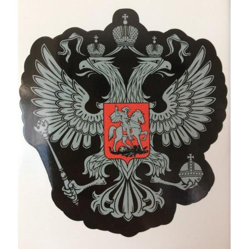 Nálepka Ruská dvojhlavý orlica vzor 2