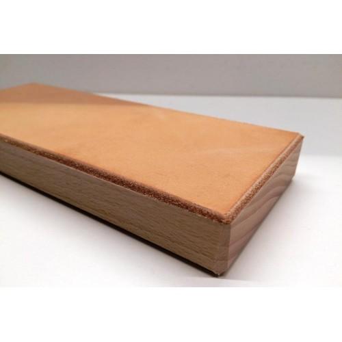 Kožený obťahovacie blok (jemná strana koža)